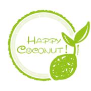 有機ココナッツオイルのHappy Coconut!